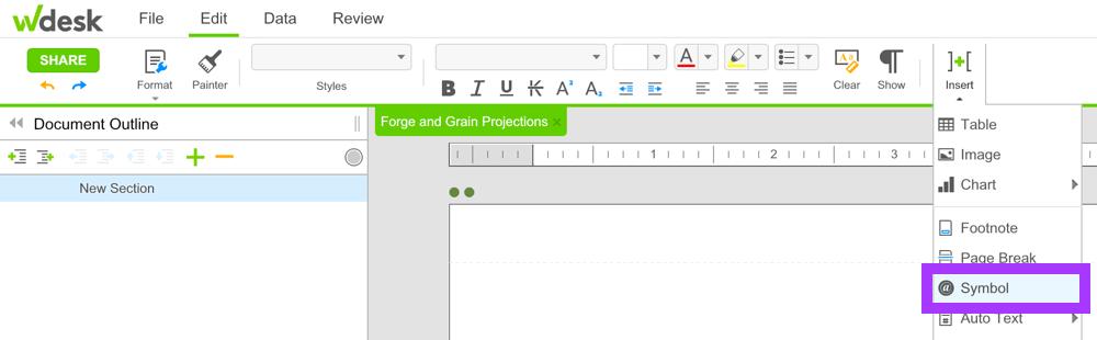 Text Formatting Wdesk Help