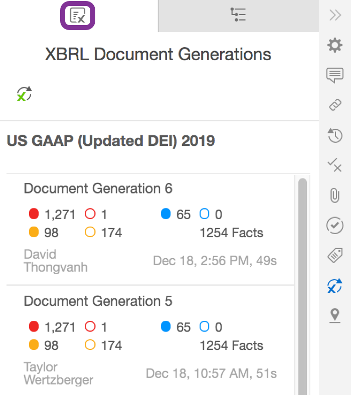 Full document XBRL generation